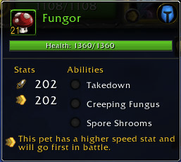 Meet Fungor. He's a giant mushroom person!