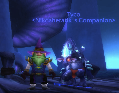 Me and My Mushroom Buddy. Note the Insanely Cool Shroom tabard!