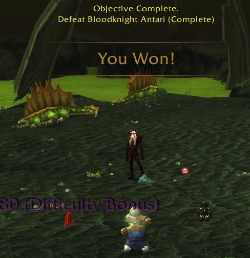 Congratulations! You've just Tamed Outland!