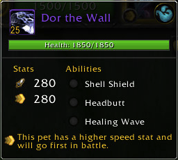 Dor the Wall