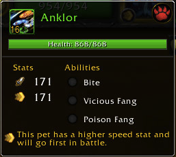 Meet Anklor. Annoyance Rating: Moderate -