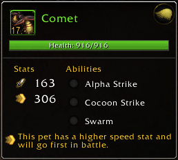 Meet Comet. Gimmick Level: Moderate.