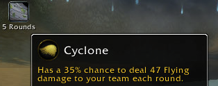 Cyclone is annoying.