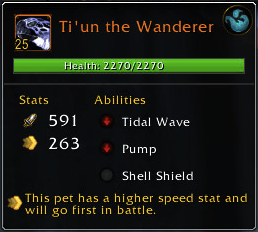 Ti'un the wanderer - abilities